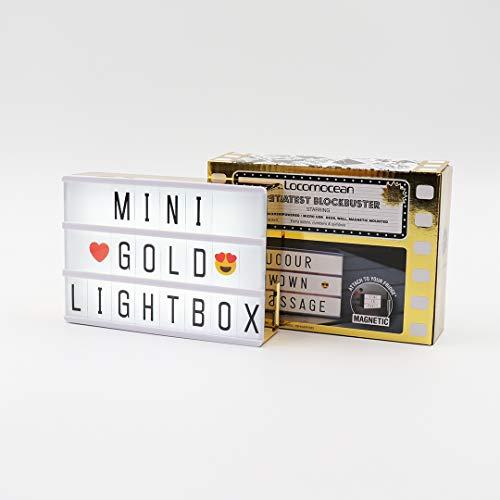 Lightbox A6 Dorée - Cadeau Maestro