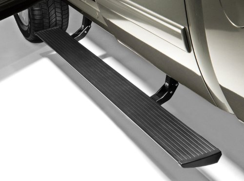 AMP Research 75126-01A PowerStep Electric Running Boards for 2007-2013 Silverado & Sierra 1500, 2007-2014 Silverado & Sierra 2500/3500 with Extended & Crew Cabs (Excludes 2011-2014 Diesel),Black