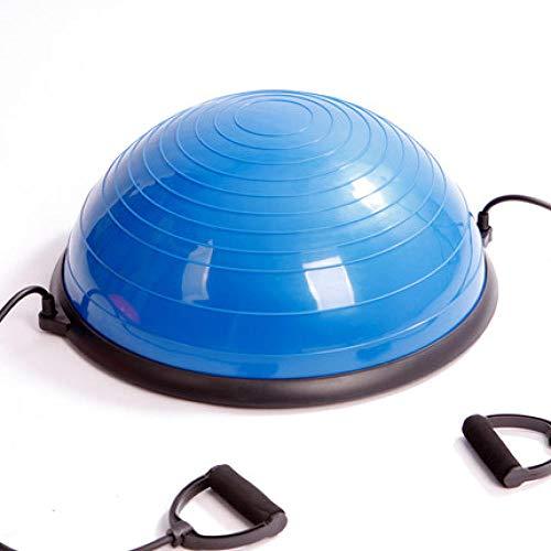 Rotagrod Bola De La Aptitud PVC Yoga Ball Body Balance Half Fitness Ball Ejercicio Gym Balance Yoga Ball para Fitness Body Building-Blue