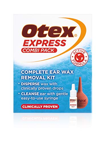 Otex Express Combi Pack Drops and Ear Syringe, 10ml