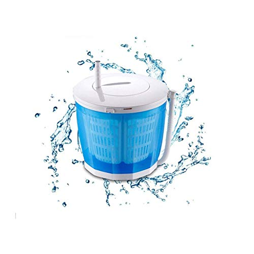 HongTeng Tragbare Mini-Waschmaschine, Handkurbel Manuellen Kleidung Nicht elektrischen Rotary Trockner, geeignet for Camping, Apartment, Schlafsaal, Universität Auto, Exquisites, Etc.