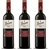 Beronia Crianza - Vino D.O.Ca. Rioja - 3 botellas de 750 ml - Total: 2250 ml