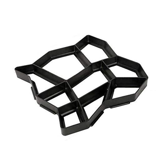 #N/V Moldes de plástico para hacer caminos manualmente pavimentación de cemento, ladrillo, jardín, piedra, carretera, hormigón, pavimento, para jardín y hogar