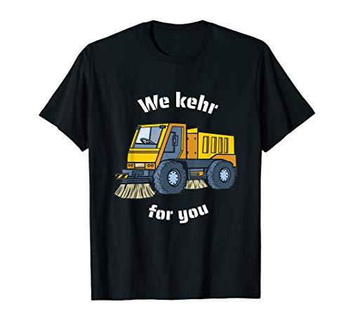Kehrmaschine Kehrfahrzeug Müllmann Straßenreiniger T-Shirt