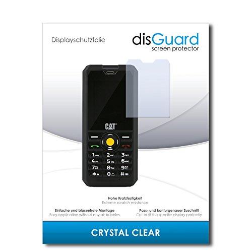 disGuard® Bildschirmschutzfolie [Crystal Clear] kompatibel mit Caterpillar Cat B30 Dual SIM [4 Stück] Kristallklar, Transparent, Unsichtbar, Extrem Kratzfest, Anti-Fingerabdruck - Panzerglas Folie, Schutzfolie