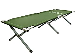 Image of VIVO Camping Cot, Portable Fold up Bed, Military Style Cot, Carrying Bag Included: Bestviewsreviews