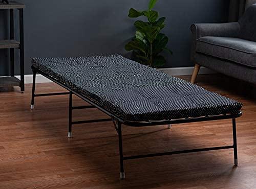Cama plegable con colchón plegable de espuma de memoria - cama plegable portátil con bolsa de transporte - Lujosa cama plegable ...