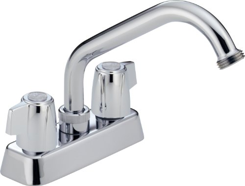 Peerless 2-Handle Durable Centerset Utility Sink Faucet