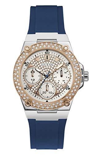 Guess Reloj Zena para mujer color azul W1291L2
