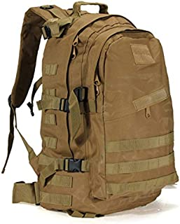 50 L Mountaineering Backpack Camping Hiking Trekking Rucksack Travel Bag (brown)