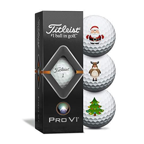Titleist Pro V1 Weihnachts-Golfbälle - 3er Pack