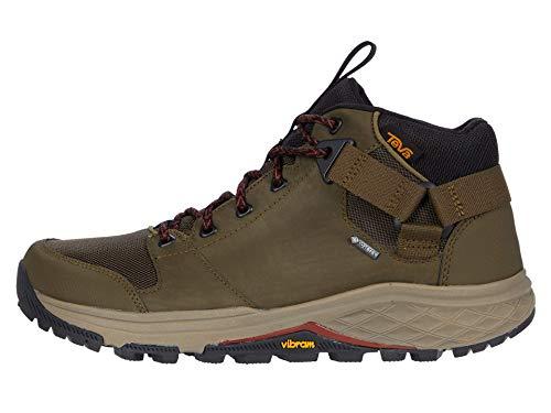 Teva Mens Grandview GTX Hiking Boot, Dark Olive, Size 11.5