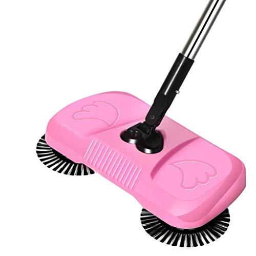Automatisk Broom Böj inte Over Äldre gravid kvinna städredskap Broom Lazy uppfinning patenterad produkt Weeping Robot (Color : Pink)