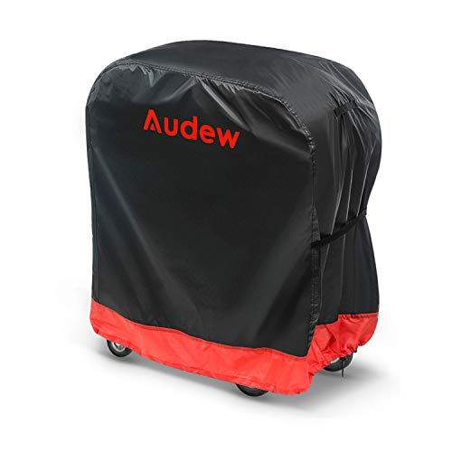 BBQ Grill Cover, Audew Gas Grill Covers   58-inch Heavy Duty Waterproof BBQ Cover   Fits Grills for Weber Char-Broil Nexgrill Brinkmann, Windproof, RipProof, Weather & UV Resistant with Storage Bag