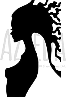 A5 'Female Silhouette' Wall Stencil / Template (WS00003194)
