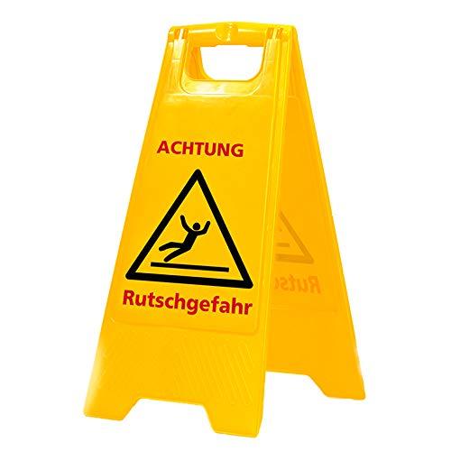 Warnschild Vorsicht Rutschgefahr