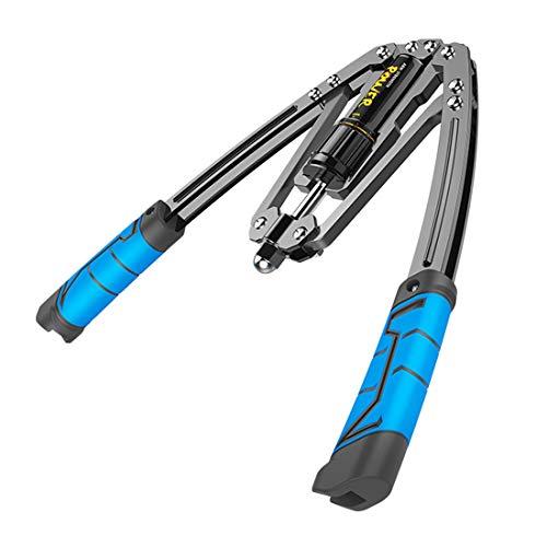 Power Twister FlexibleFitnessgeräte-Armkraft-Brust Expander verstellba Arm Hydraulic Trainer, Heimfitness-Trainingsgerät 10-200KG Verstellbarer Arm Muskelgriff für Oberkörper Arm Stärkung Üben B