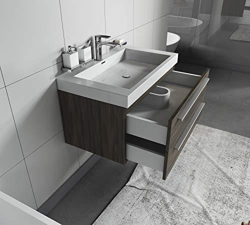 Badplaats B.V. Badezimmer Badmöbel Rome komplett 2