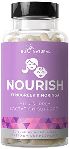 Nourish Lactation Support Postnatal Vitamins Nutritious Milk Supply Colic Gas Relief Let Down product image