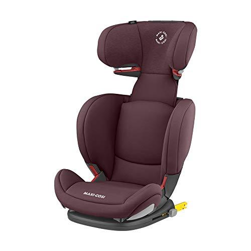 Maxi Cosi RodiFix AirProtect (AP) Kindersitz Gruppe 2/3, ISOFIX-Sitzerhöhung, optimaler Seitenaufprallschutz, 3,5 - 12 Jahre, 15 - 36 kg, (rot) Authentic Red