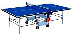 Sponeta Tischtennisplatte Outdoor für Schulen und Vereine in blau