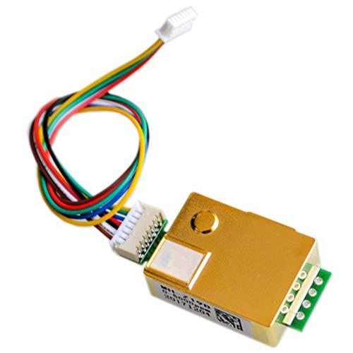 Liseng MH-Z19 Módulo de sensor de CO2 por infrarrojos MH-Z19B, sensor de gas dióxido de carbono para monitor de CO2 0-5000 Ppm, MH Z19B