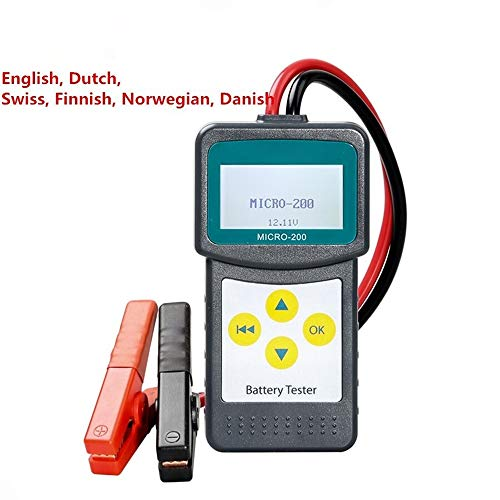 Lowest Prices! Z.L.FFLZ Auto Tester Car Battery Tester/Analyzer MICRO-200 Micro 200 for 12 Volt Vehi...
