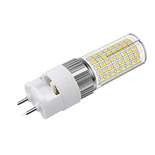 LED-Leuchtmittel, G12, E27, 16 W, dimmbar, entspricht 80 W Halogenlampe, 1600 lm, warmweiß, 3000 K, AC 85-265 V (1 Stück)