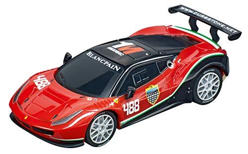 Carrera 64136 Ferrari 488 GT3 AF Corse #488 GO!!! Analog Slot Car Racing Vehicle 1:43 Scale