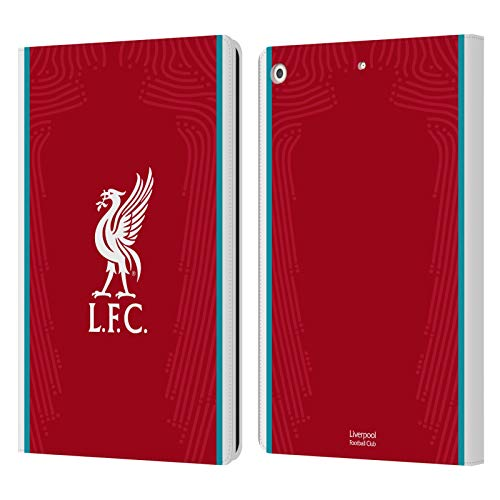 Head Case Designs Officially Licensed Liverpool Football Club Home 2020/21 PU Leather Book Wallet Case Cover Compatible With Apple iPad 10.2 (2019)/(2020)