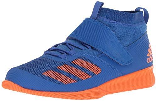 adidas Men's Crazy Power Rk Cross Trainer Blue/hi-res Orange/Collegiate Royal, 9.5 M US
