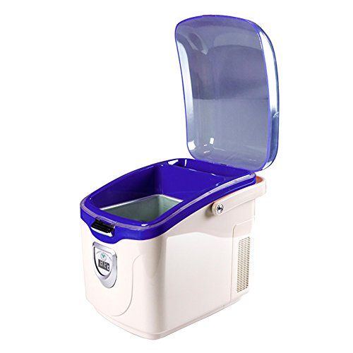 Nevera Portatil Coche Refrigerador Del Coche Home Car 12V Cool Box Regalo 5L,Blue