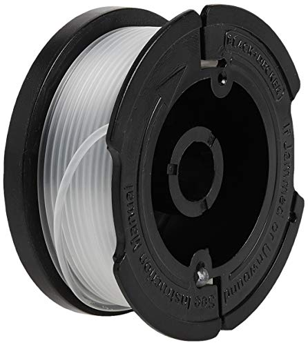 BLACK+DECKER Trimmer Line Replacement Spool, Autofeed 30 ft, 0.065-Inch, 2-Pack (AF-100-2)