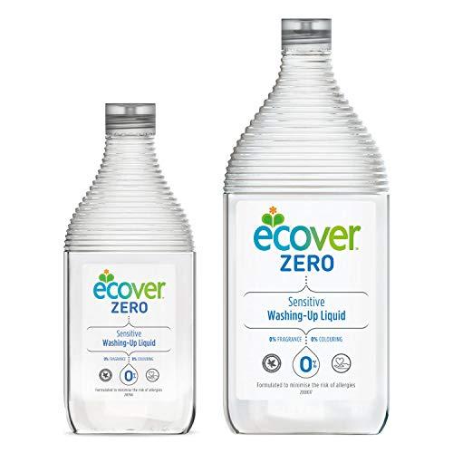【まとめ買い】 エコベールゼロ 食器用洗剤 本体(450ml)+つめかえ(950ml)