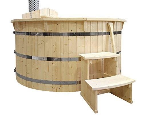 Sell-tex Hot Tub Badezuber Badebotich Whirlpool Garten Pool Schwimmbecken