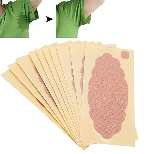 Parche antitranspirante para axilas, almohadilla desodorante absorbente de sudor para pies desechable a prueba de sudor, absorbe la transpiración para combatir la hiperhidrosis