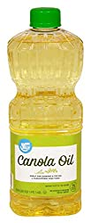 Amazon Brand - Happy Belly Canola Oil, 48 Ounces