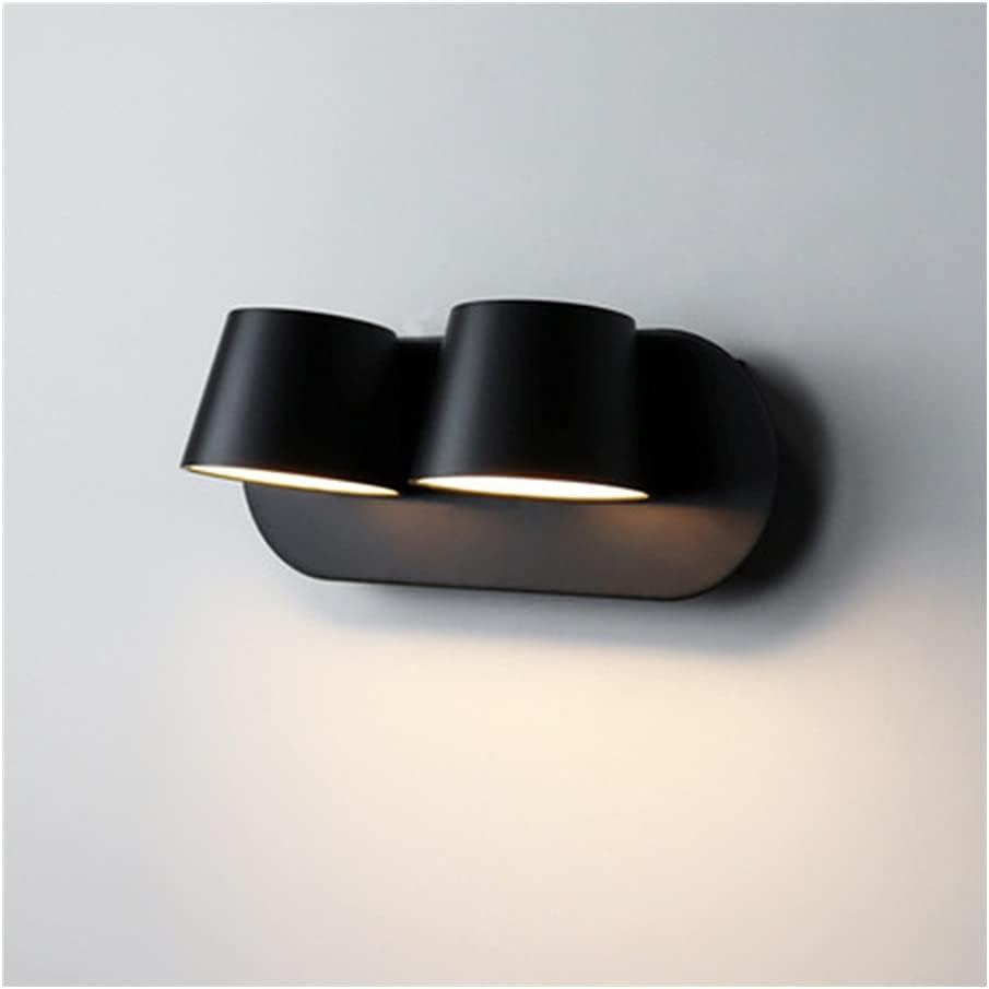 BDSHL Wall Lights Black Shell Degr Acrylic Popular brand Material Finally resale start Led 360
