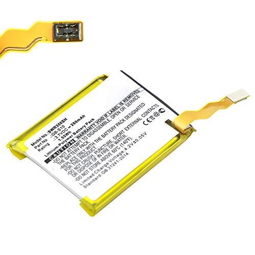 subtel Batería de Repuesto GB-S10 Compatible con smartwatch Sony SmartWatch 3 (SWR50), 280mAh GB-S10 Accu Battery Pack