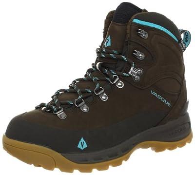 Vasque Women's Snowblime Winter Hiking Boot, Turkish Coffee/Scuba Blue,9 M US