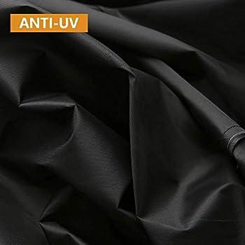 Binchil Couverture de course non pliable - Étanche - Convient pour l'intérieur ou l'extérieur - Noir