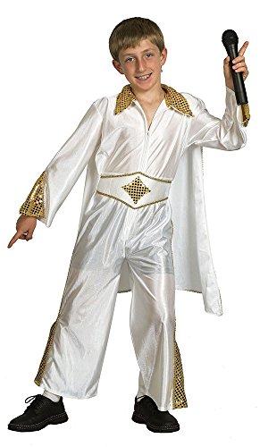 Bristol Novelty- CC536 Costume de Rock Star, Taille, doré, Grand