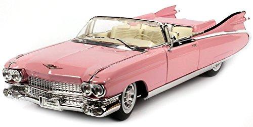 Cadillac Eldorado Biarritz, pink, 1959, Modellauto, Fertigmodell, Maisto 1:18