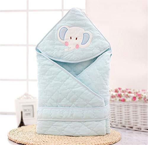 NUO-Z Saco de Dormir para bebés recién Nacido, Ropa de Cama para bebés, Manta de algodón, 90 × 90 cm (0-12 Meses)