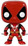 Funko- Pop Bobble Marvel Deadpool Two Swords, Multicolore, 7486