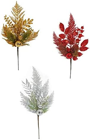 21 Inch Glitter Mixed Leaf Shiny Ball Gold S or Spray in New popularity Red Recommended