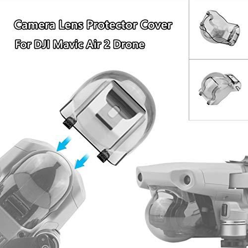 CUEYU Gimbal Camera Lens Protector Cover für DJI Mavic Air 2 Drone, Gegenlichtblende Staubschutzkappe Kompatibel mit DJI Mavic Air 2 Drone