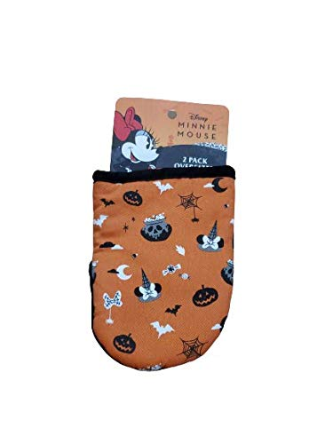 Best Brands Disney Minnie Mouse Holloween Mini Oven Mitts Potholders 2 Count