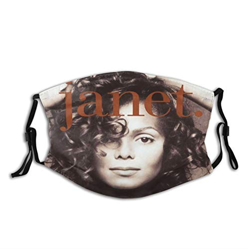 VirgieBSmith Janet Jackson Janet Decorative Masks,Outdoor Bandanas,Face Cover,Mouth Guard,Balaclava,Neck Gaiter Dustproof Scarf