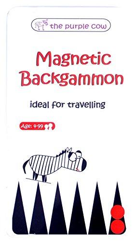 Magnetic Travel Game Backgammon (multilingual)